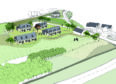 early layout designs for ACT community housing development
