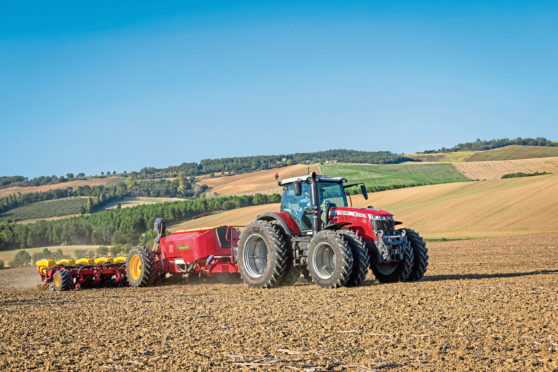 Spot the difference – new 'S' versions of the Massey Ferguson 8700 Series tractors have extended engine service intervals, new maintenance-free tappets and upgraded emissions control.