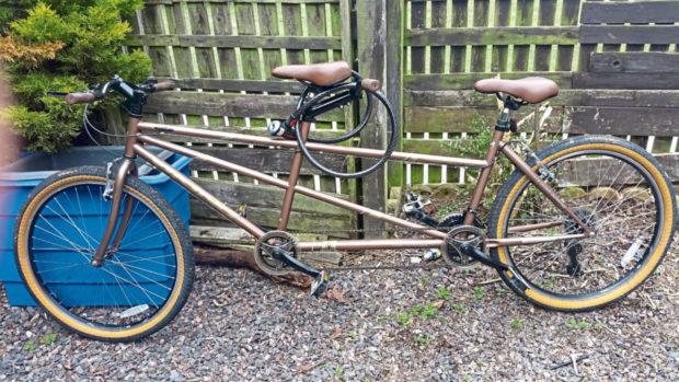 The Avocet Viking brand tandem bike