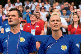 Michelle Kerr, Head Coach of Scotland at the FIFA Women's World Cup in France