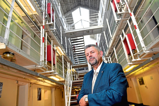 CR0009925 Business interview with Conrad Ritchie of the Score Group, which along with working in the oil industry, also operates the Peterhead Prison Museum.          Pictured - Conrad Ritchie.    Picture by Kami Thomson    07-07-19