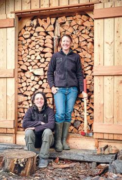Lynbreck Croft managers Lynn Cassells, left, and Sandra Baer.