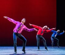 Carlos Acosta and Acosta Danza  in Rooster by Christopher Bruce part of Carlos Acosta-A Celebration-Royal Albert Hall. (Opening 02-10-18) ©Tristram Kenton 10-18 (3 Raveley Street, LONDON NW5 2HX TEL 0207 267 5550  Mob 07973 617 355)email: tristram@tristramkenton.com