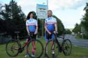 Pete Lowson and Lucy Ritchie in Team Ecosse Northboats (TEN) club colours at Inverurie