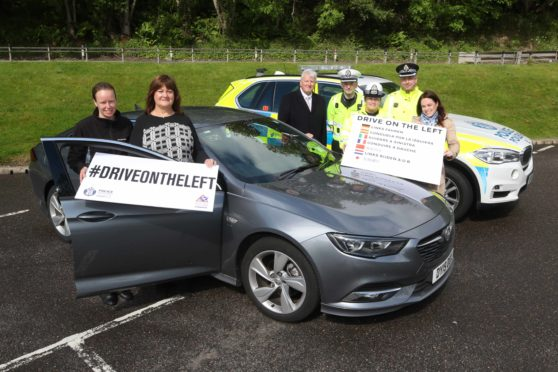 Representatives gathered yesterday for the launch of the campaign at Urquhart Castle on the banks of Loch Ness