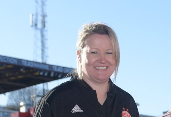 Aberdeen co-manager Emma Hunter.