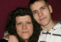 Gill Reid and her son Michael Reid, who died in 2011, aged 22