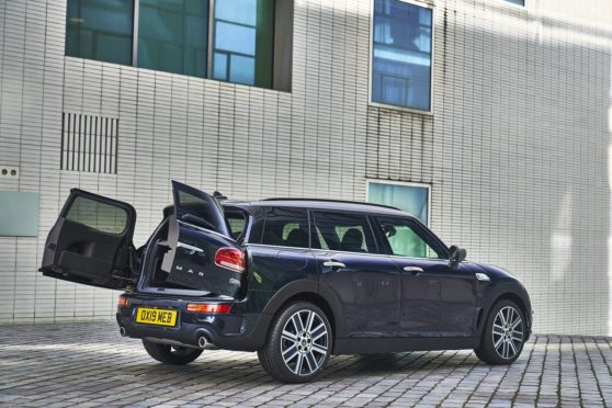 Road Test Minis Clubman Stands Out From The Crowd Press And Journal