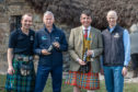 utside historic Leanach Cottage at the launch is (l-r Al Read (Windswept Brewery), Simon Skinner(CEO NTS), Raoul Curtis Machin (Operations Manager, Culloden Battlefield and Visitor Centre) and Nigel Tiddy (Windswept Brewery)