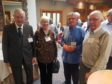 Scottish War Blinded veterans enjoyed a night of entertainment in Inverness
