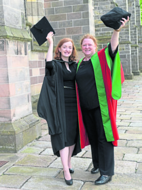 Anna and Sue Black.  Picture by Kath Flannery