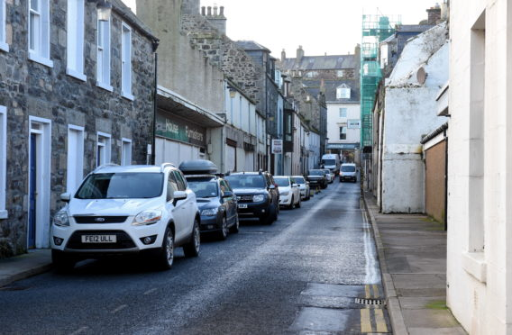 Bridge street in Banff is to be shut for 3 months for regeneration works.