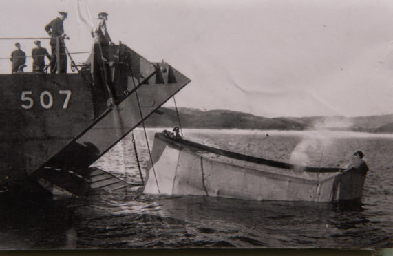 practice run: Armoured vehicles were subjected to a range of amphibious adaptations, with varying degrees of success.