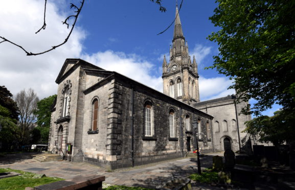 St Nicholas Church in Aberdeen