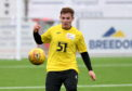 Fraser Fyvie is training with Dundee.