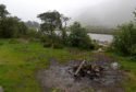 Glen Etive, Lochaber where some wild campers have been causing problems with litter and debris.