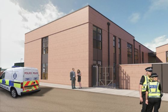 An artist's impression of the Buchan House extension