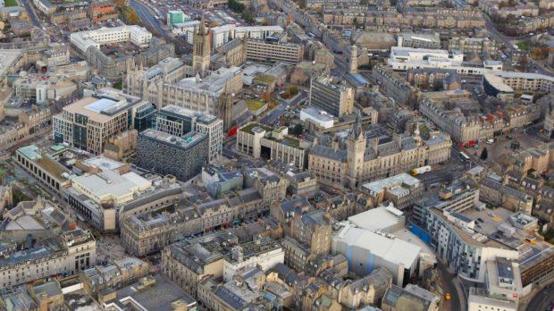 Queen Street aerial