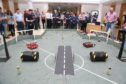 Pupils from Alness and Benbecula competed in the Scottish Robotic Games on Saturday, which were held in Edinburgh