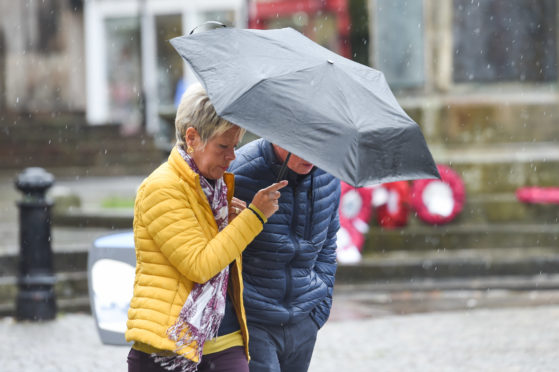Weather woes will ease across north of Scotland in the next few days | Press and Journal