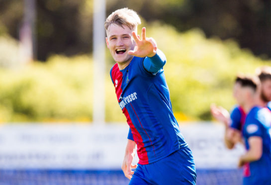 Caley Thistle defender Coll Donaldson.