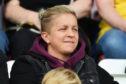 Scotland striker Lana Clelland.