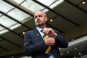 Scotland manager Steve Clarke will lead his side in the Nations League play-offs.