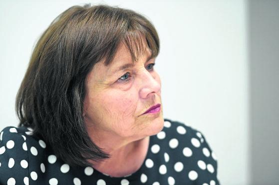 Health secretary Jeane Freeman speaks in Inverness. Picture by Sandy McCook.