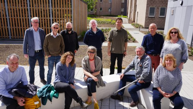 The Saltire Housing Tour judges