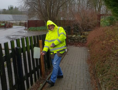 The SAMH Cultivate group helped renovate the Carer's Garden at Aden Country Park