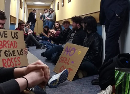 Leaked document reveals new details about violent Aberdeen student protest | Press and Journal