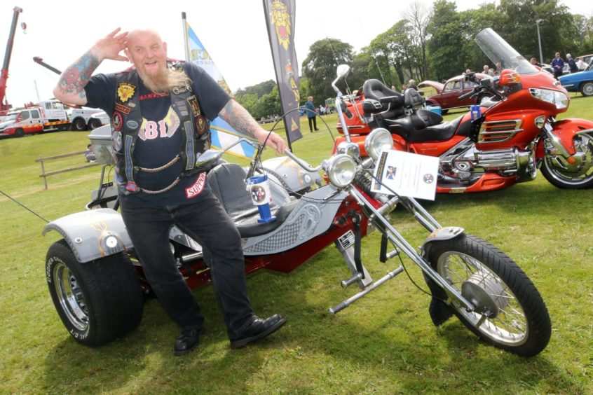 Andy Forshaw from Tomatin with his VW 1200.
