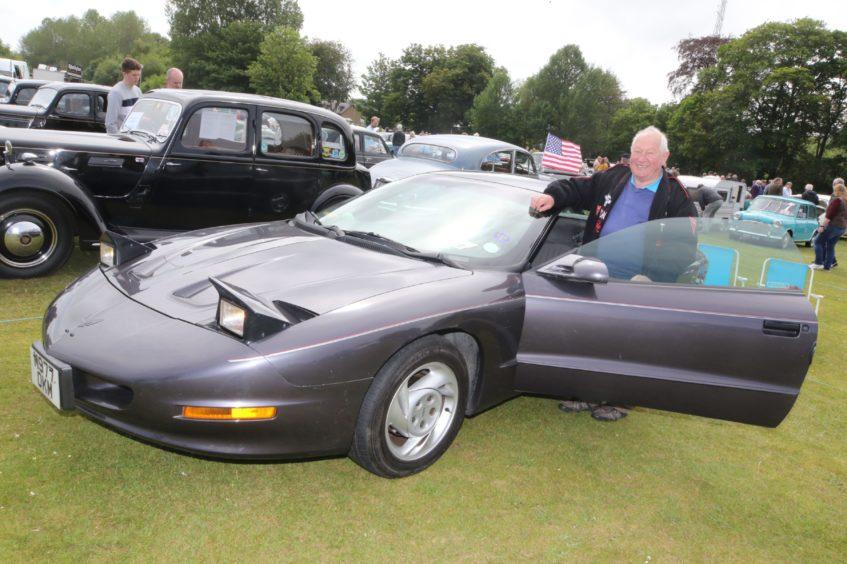 Dennis Lake from Portgordon with his 1994 Pontiac Firebird 5.7-litre V8.