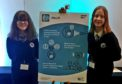 Phoebe Rees and Isla Horsburgh have devised an app to detect cleft lip in unborn babies.