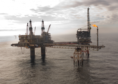 Apache's Beryl Alpha platform in the North Sea