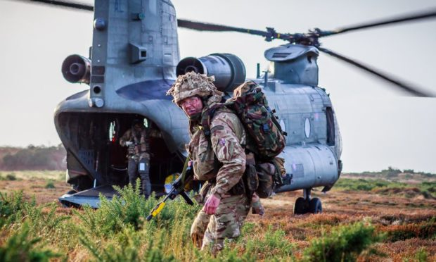 The 2622 squadron in Moray is seeking to recruit oil and gas workers to its ranks.