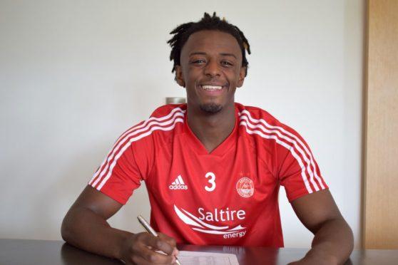 Aberdeen defender Greg Leigh. Pic: AFC Media.