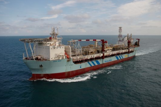 The Aoka Mizu vessel will serve the Lancaster field and Greater Warwick Area. Picture from Bluewater