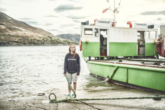 MV Glenachulish is raising cash to secure its future