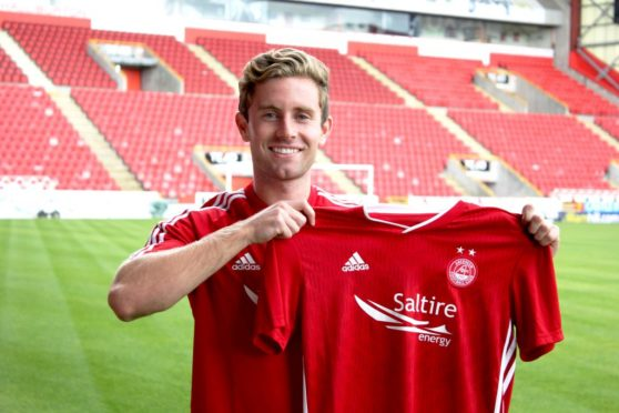 Jon Gallagher played the full 90 minutes for Aberdeen