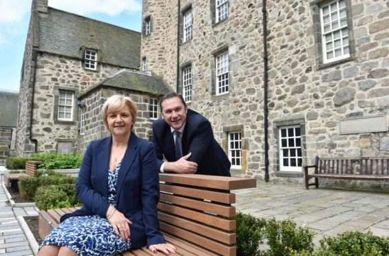 Councillor Douglas Lumsden and Councillor Jenny Laing.