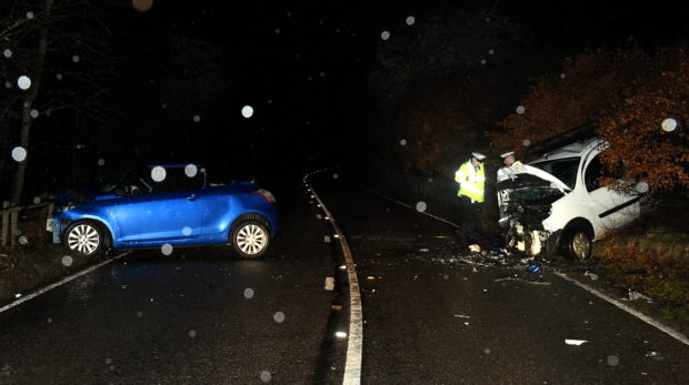 Sally-Ann Henderson has been convicted of careless driving after causing a crash on the A93 last year.