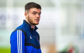 Cove Rangers' new signing Daniel Higgins.
