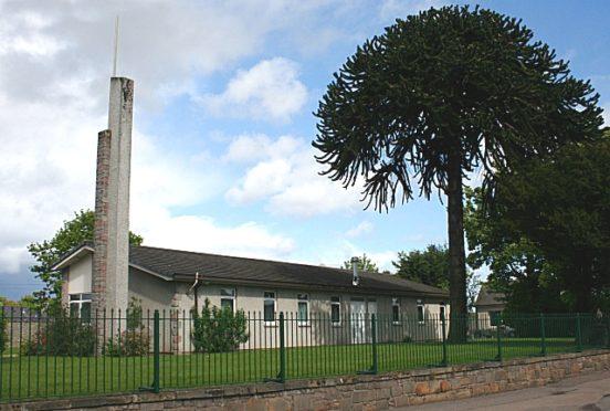 The chapel was built on Pansport Road in Elgin.