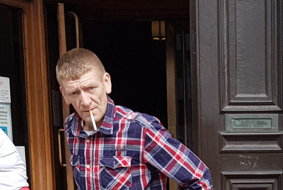 Alastair Garden admitted selling drugs to police in Fraserburgh.