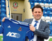 Hartley took the Cove Rangers job at the start of last month.