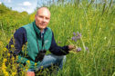 Dave Parish, head of  lowland research in Scotland for the Game & Wildlife Conservation Trust.