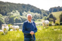 Major David Walter is celebrating 50 years as a successful Charolais cattle breeder