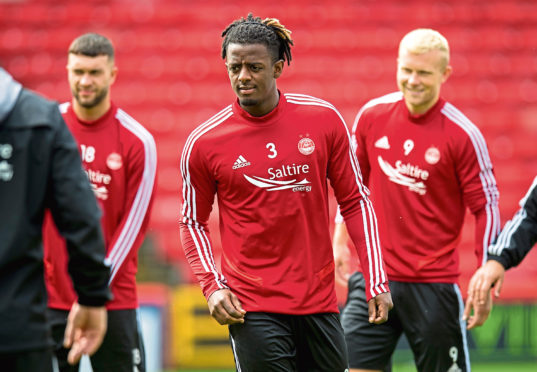 New Dons signing Greg Leigh.