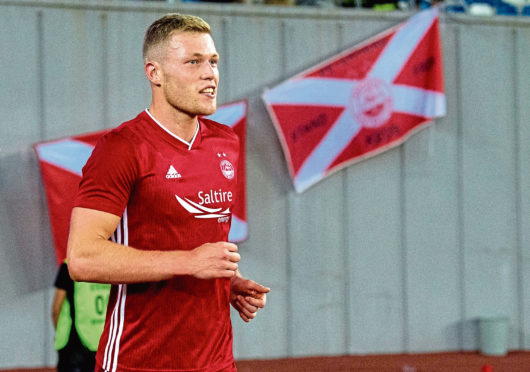 Sam Cosgrove has three Europa League goals to his name.